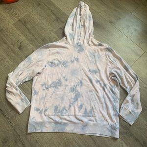 American rag tie-dye hoodie